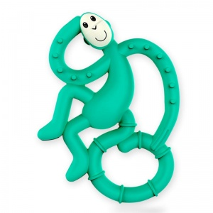 Matchstick Monkey Mini Baby Teether - Green