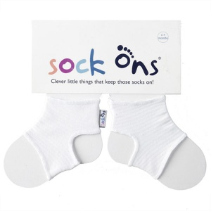 Sock Ons, White